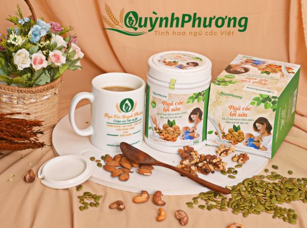Ngũ cốc lợi sữa Quỳnh Phương