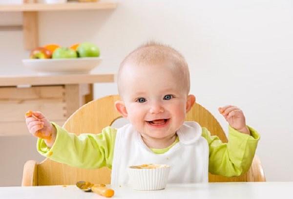 Khẩu phần dinh dưỡng dàng cho bé 8 tháng tuổi
