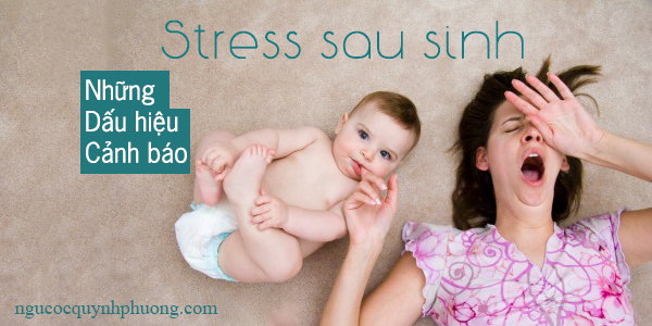stress sau sinh