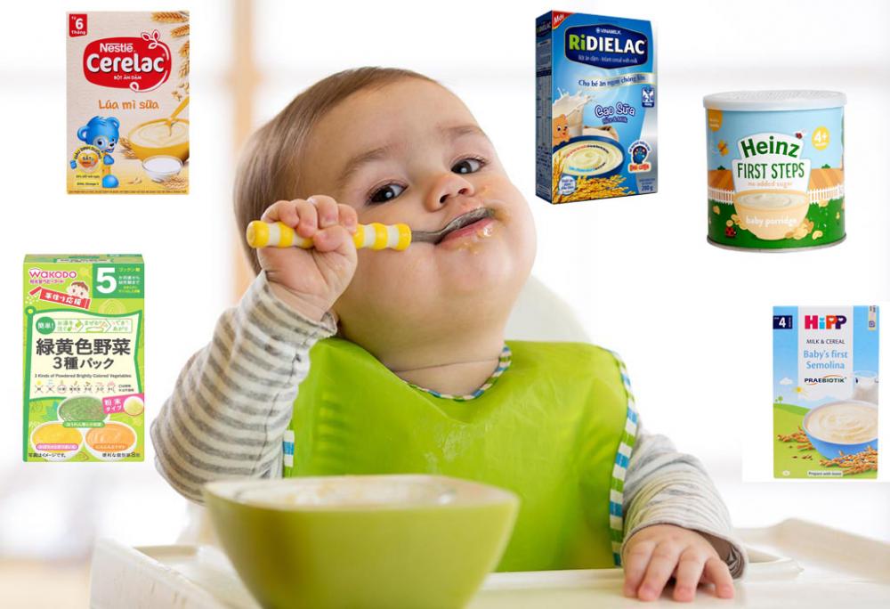 Vì sao cần cho bé ăn bột ăn dặm?