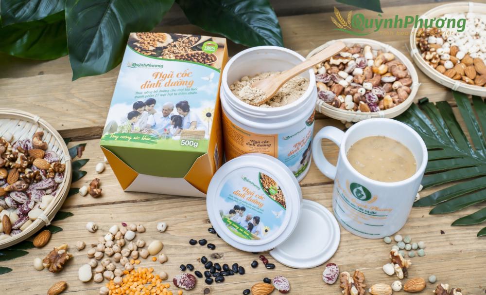 Bột ngũ cốc lợi sữa Quỳnh Phương
