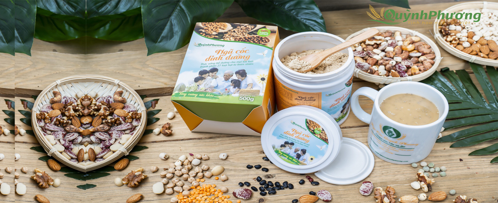 Bột ngũ cốc dinh dưỡng Quỳnh Phương hỗ trợ giảm cân cho mọi đối tượng