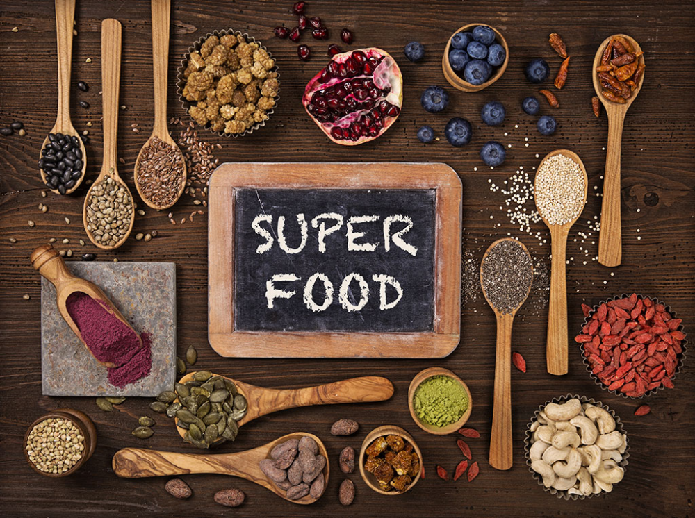 Ăn siêu thực phẩm thay vì ăn quá nhiều thực phẩm trong quá trình giảm cân