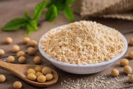 Mầm đậu nành khi được chế xuất dưới dạng bột