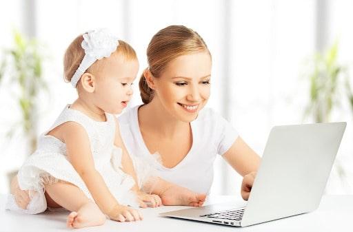 Mẹ bỉm sữa kinh doanh online gì ít rủi ro?