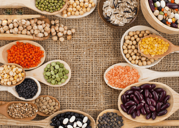 Nguyên liệu làm bột ngũ cốc tăng cân cho bé