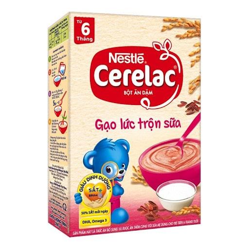 Bột ăn dặm cho bé 5 tháng Nestle Cerelac