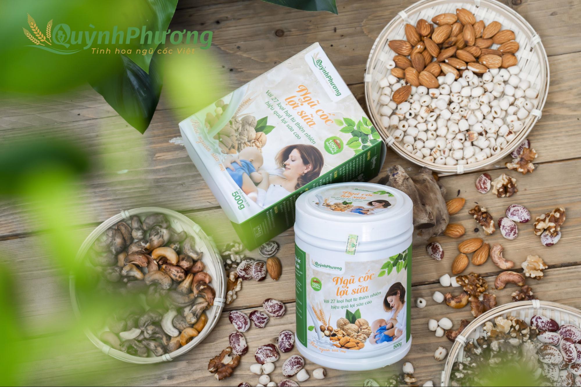 Công ty phân phối bột ngũ cốc lợi sữa đạt chuẩn