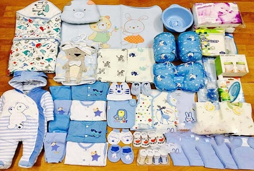 Những đồ dùng cần thiết cho trẻ sơ sinh